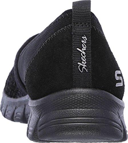 Skechers Active Ez Flex 3.0-Duchess, Sneaker Donna Nero (Black)