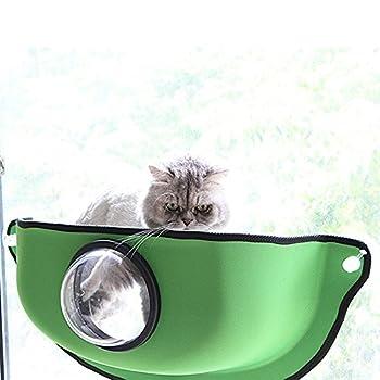 YAOBAO Hamac De Chat Look Mount Window,Green