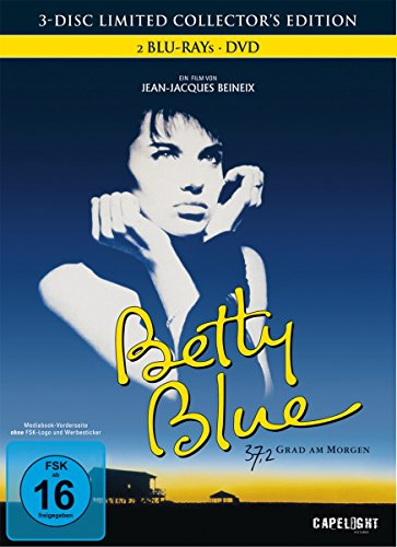 Betty Blue 37,2 Grad am Morgen (3-Disc Limited Collector's Edition) [Blu-ray] [Director's Cut] [Limited Edition] [Edizione: Germania]