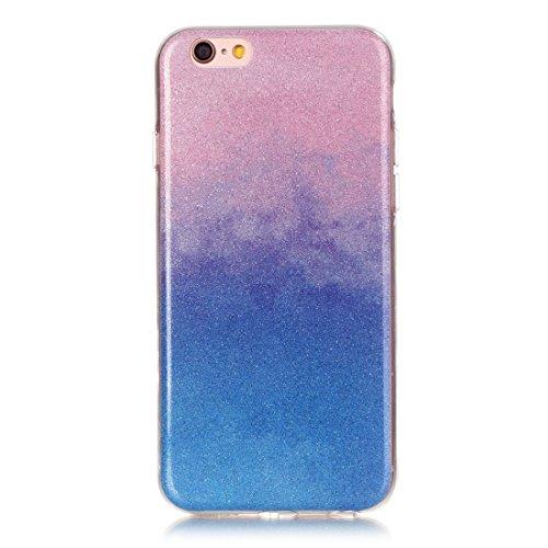 YAN Für iPhone 6 / 6s, IMD Color Fades Glitter Powder TPU Schutzhülle YAN ( SKU : IP6G8686N ) IP6G8686L