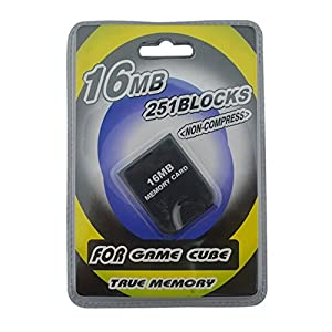 Link-e ® – Memory card 16mb (251 blocks, not compressed memory) for console Nintendo Gamecube
