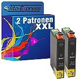 PlatinumSerie® 2x Druckerpatrone XL mit Chip kompatibel zu Epson TE1281 Black Epson Stylus SX 235 SX 235 W SX 420 W
