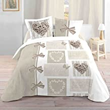 lovely casa housse de couette coton blanc 260x240 cm - Parure De Lit 240x260