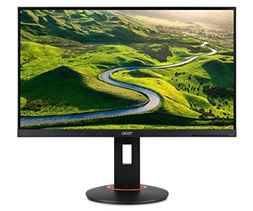 Acer XF270HA 69 cm (27 Zoll Full HD) Monitor (DVI, HDMI, DisplayPort, 1ms Reaktionszeit, 240Hz, höhenverstellbar, AMD FreeSync) schwarz