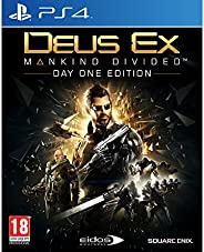 Deus Ex: Mankind Divided - Day One Edition Game Addicts (PS4)