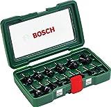 Bosch DIY 15tlg. Fräser-Set HM (1/4