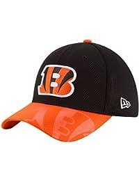 New Era Nfl Sideline 39Thirty Cinben Otc - Casquette ligne Cincinnati Bengals pour Homme, couleur Noir, taille XS-S