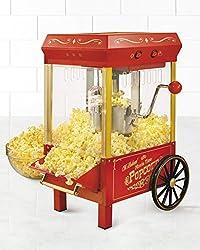 Nostalgia KPM508 Vintage Collection 2.5-Ounce Kettle Popcorn Popper