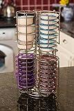 Home Treats Tassimo T-Disc Kaffee Kapselhalter drehbar Ständer 48 Pods Stand-1 chrome