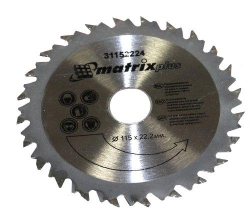 Preisvergleich Produktbild Aerzetix: Scheibe Kreissägeblätter Sägeblatt für Holz 115/22,2 T24 24 Zähne