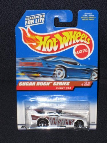 1997 Hot Wheels - Sugar Rush Series - Hershey's - Funny Car #2 of 4 by Hot Wheels