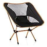 stuhl bequeme Angler-stuhl für faltbare platz für stuhl outdoor und indoor aktivitäten Camping, Wandern, Picknick, Angeln, Garten BBQ, Strand Reisen, Pause, Unterhaltung Orange