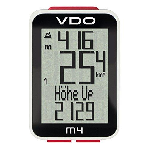 VDO M4 Cycle - Accesorio de iluminación para bicicletas, color negro, talla...