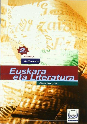 Portada del libro Euskara -A- DBHO 2