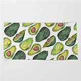 NDJHEH Strandtücher Handtücher Avocado Slices Beach Towel 31x51 Inches