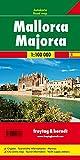 Mallorca, Planungskarte 1:100.000 (freytag & berndt Auto + Freizeitkarten)