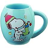 Peanuts Snoopy Holiday 18 Oz. Oval Mug by Vandor
