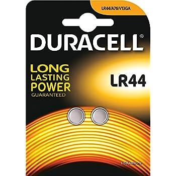 Duracell lot de piles bouton alcalines (lR44)-lot de 2 sous blister