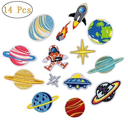 Parches bordados planchar diseño astronauta