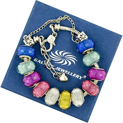 lucido-colorato-charm-bracelet-ideale-regalo-per-le-donne-e-le-ragazze-viene-fornito-con-confezione-