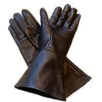 Leather Mystics Guantes de Piel pequeño (SM) Negro Largo – Tensiómetro ...