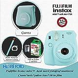 Fujifilm instax Mini 9 Ekonomik Kit (AÇIK MAVİ) 10lu film Set