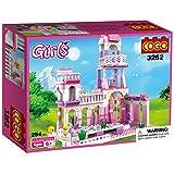 COGO ragazze blocchi castello Royal feast Palace principe e principessa wedding party Girls Toys Construction set da gioco per bambini, compatibili con Lego Girls 254mattoncini 3262C