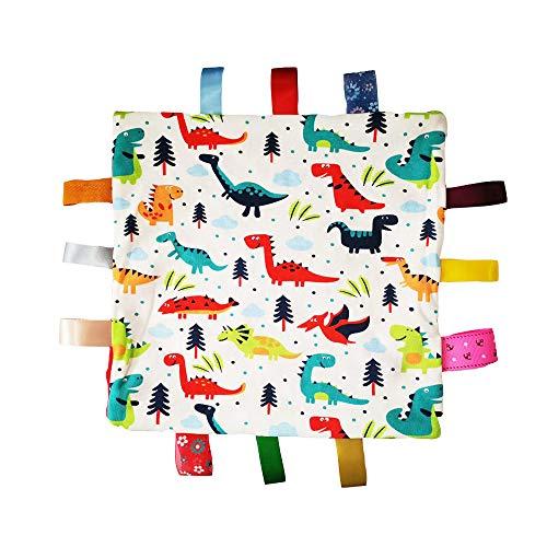 Bébé Soft Touch Consolateur Couverture avec des étiquettes - Tag Consolateur/Confort Couverture de sécurité grand cadeau pour tout-petits enfants enfants