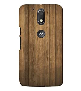 FUSON Wood Wall Background Wooden 3D Hard Polycarbonate Designer Back Case Cover for Moto G Play (4th Gen) :: Motorola Moto G4 Play