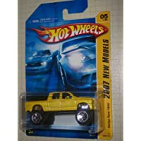 2007 New Models #5 Dodge Ram 1500 #2007-5 Yellow K-Mart Exclusive Collectible Collector Car Mattel Hot Wheels by Hot Wheels - 2007 Dodge Ram