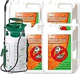ENVIRA Holzwurm frei Spray 4x2Ltr + 5Ltr Sprüher