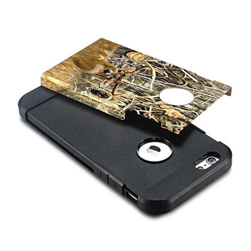 YAN Für iPhone 6 / 6s Camouflage Muster PC + TPU Bunte Rüstung Hard Case ( SKU : S-IP6G-6683H ) S-IP6G-6683J