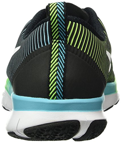 Nike Free Train Versatility, Chaussures de Running Entrainement Homme Multicolore (Black/Electric Green/White)