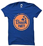 RappersShop Beach Party Make Your Summer Premium Men's Round Neck Tshirt With Highest Quality Graphic Prints_M