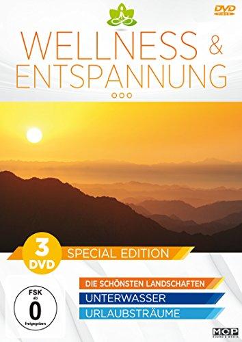 Wellness & Entspannung - 3DVD Special Edition (Die schönsten Landschaften / Unterwasser / Urlaubsträume)