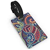 Luggage Tags with Decorative Flower Pattern Printing ID Lable Baaggage Hanbdag Id Tag