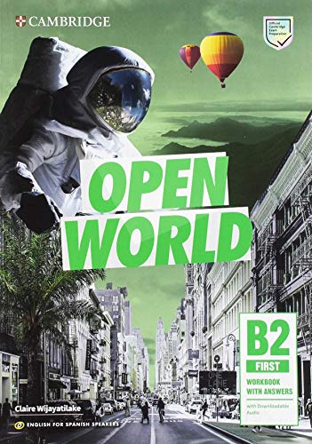 Open World First Workbook with Answers with Downloadable Audio English for Spanish Speakers