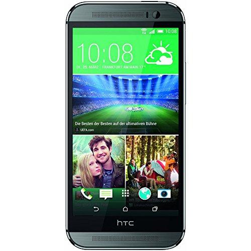 HTC One M8S Smartphone (5 Zoll LCD-Bildschirm (12,7 cm), 16 GB interner Speicher, 2 GB RAM, 13 Megapixel-Kamera, Android 5.0) Metalisches Grau