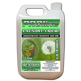 H&A Proline Lux+ NON BIO Aloe Freshness Laundry Liquid 5 ltr 142 Washes