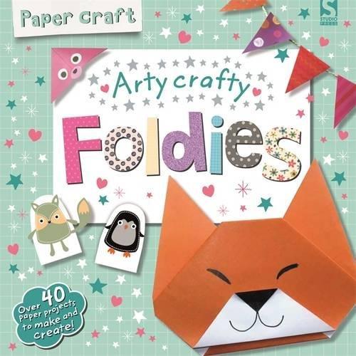 Paper Craft Foldies - Arty Crafty por Frankie Jones