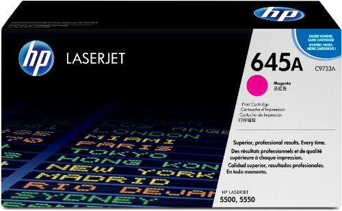 HP 645A (C9733A) Rot Original Toner für HP Color Laserjet 5500, HP Color Laserjet 5550 (Hp Color Laserjet 5550n)