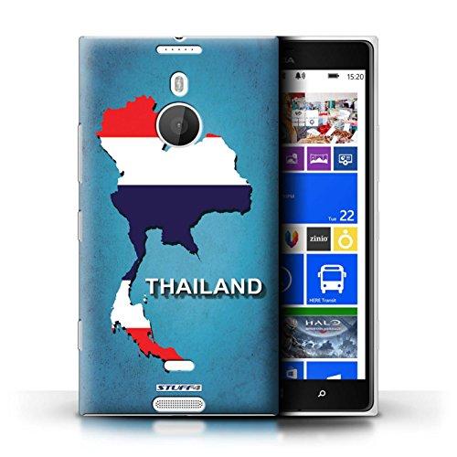 Kobalt® Imprimé Etui / Coque pour Nokia Lumia 1520 / Australie conception / Série Drapeau Pays Thaïlande/Thai