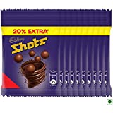 Cadbury Dairy Milk Chocolate Shots, 10.8g (Pack Of 48) 20% Extra