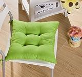 Tia-Ve weichen Stuhl Kissen Seat Pad Sitzkissen Küchengarten Esszimmer Stuhl 40x40x8 Grün