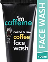 mCaffeine Naked & Raw Coffee Face Wash, 100 ml | White Water Lily | Deep Cleanser | Oily/Normal Skin | Par