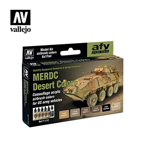 Vallejo Model Air set-US Merdc Desert Colors