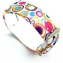 Samsung Galaxy Gear Fit R350Smart Watch Reloj para pulsera pulsera Accesorios Flower-03