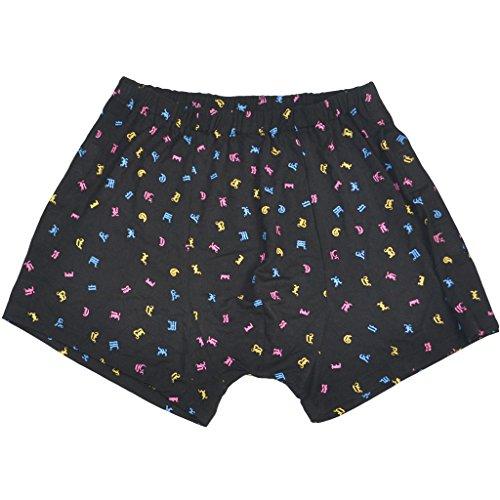 MagiDeal Atmungsaktive Männer Baumwolle Inkontinenzhose Unterwäsche Boxershorts Unterhose mit Klettverschluss, Waschbar Wiederverwendbar - XL