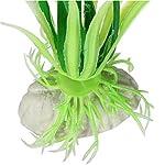 Alcyoneus Artificial Plastic Green Grass Fish Tank Ornament Water Plant Aquarium Decor 11