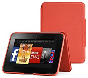 "Amazon Kindle Fire HD 7"" Standing Leather Cover, Persimmon (will only fit Kindle Fire HD 7"" [Previous Generation])"